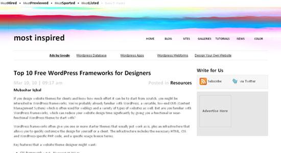 wp_frameworks