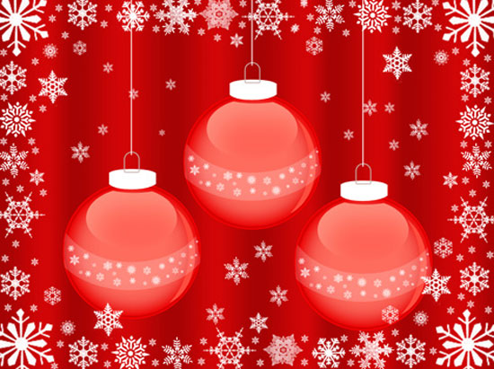 10_Christmasballswallpaper