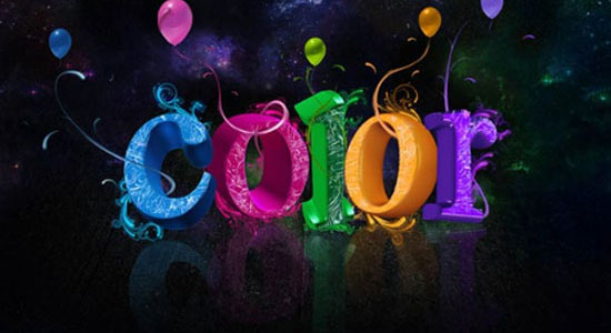 26_colorful3dtext