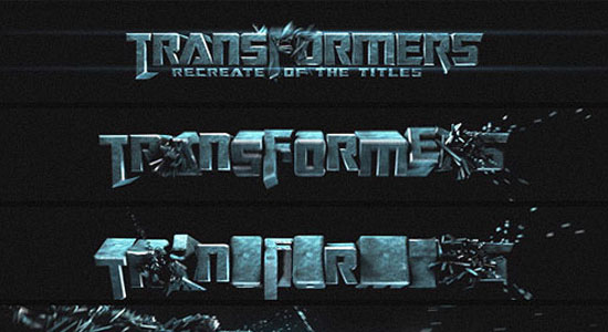 20 excellent 3d typography tutorials concept dezain learn how to blow up 3d text such as is done in the film for transformers this video tutorial uses explosion fx in cinema 4d to create a very realistic reheart Choice Image