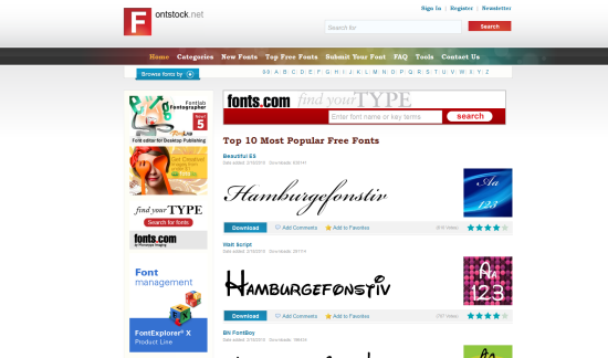 fontstock
