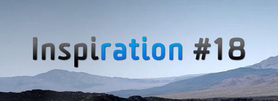 Inspiration Ration #18