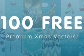 100 Free Christmas Vectors